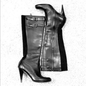 Cole Haan x Nike Air Heeled Leather Stiletto Boot